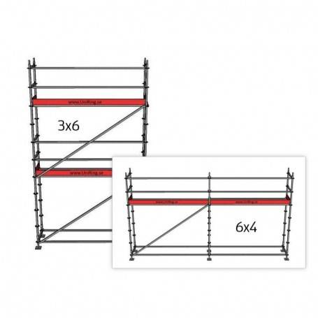 Villapaket 1M, 4 + 6 x 6 m 73 cm stålplank