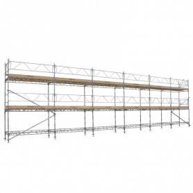 Unihak Ställning Komplett 12 x 6 meter 195 Trall 2 bomlag. 8500-600120T2195 Home