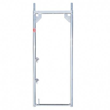 UniRam Alu Paket 8 x 6 m 73 cm stålplank