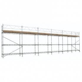 Unihak Ställning Komplett 18 x 6 meter 195