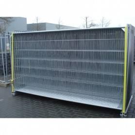 Byggstaketspaket 98 meter komplet (betongfot) 8900-98B Byggstaket