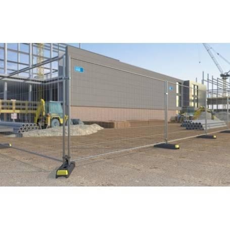 Byggstaket 3,5 m galvaniserad stål