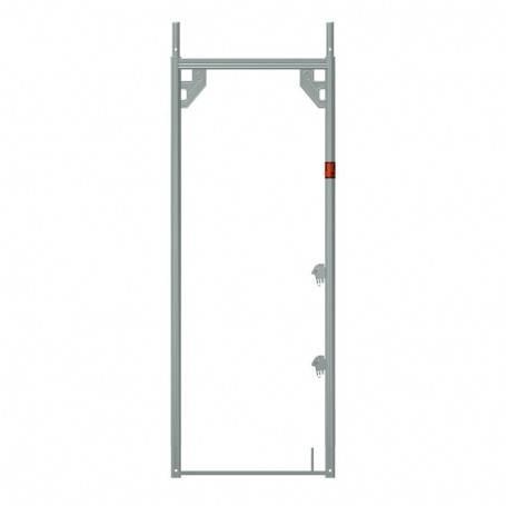 Ram 0,73x1,00 m aluminium - Uniram