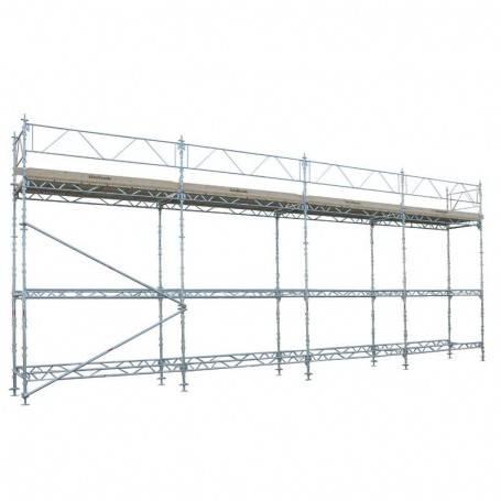 Unihak Ställning Komplett 12 x 6 meter 140 Trall