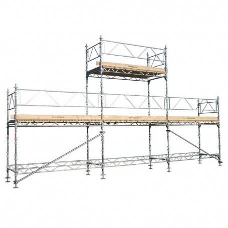 Unihak Gavelpaket Komplett 9 x 4 + 6 meter 140 Trall