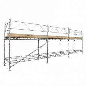 Unihak Ställning Komplett 9 x 4 meter 195 Trall