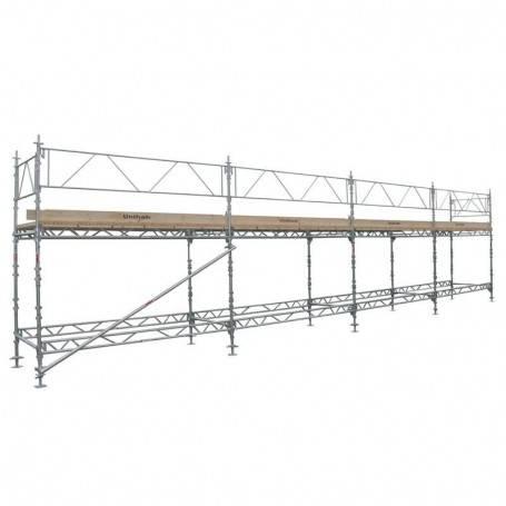 Unihak Ställning Komplett 12 x 4 meter 140 Trall