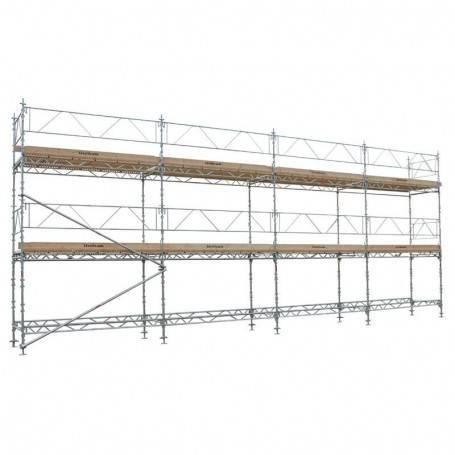 Unihak Ställning Komplett 12 x 6 meter 140Trall 2 bomlag.