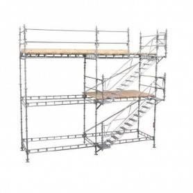 Unihak trapptorn komplett 8 Meter stål.