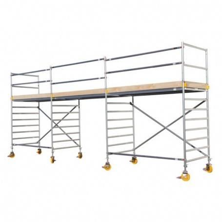 Custers Mobila arbejtsplattformar 4 x 7.5 meter. 1100-400750 Rullställningar