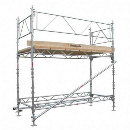 Unihak Ställning Komplett 4 x 3 meter 195 Trall