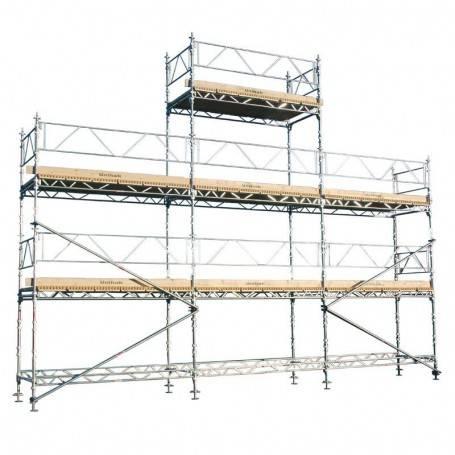 Unihak Gavelpaket Komplett 8/6 x 9 meter 140 Trall