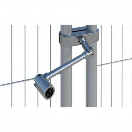 Nyckel till Säkerhet Staketlås 8900-08551440 Byggstaket